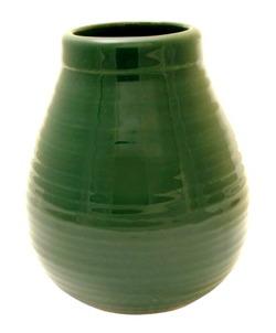 Mate Ceramiczne Calabaza zielone