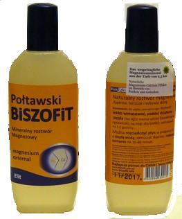 Biszofit Połtawski - balsam na łuszczycę