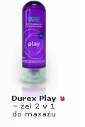 Durex Play 2w1 - nawilżający żel intymny do masażu