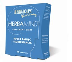 HerbaMind  wspomaga pamięć i koncentrację