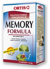 Memory Formula na pamięć i koncentrację