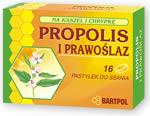 Pastylki propolisowe PROPOLIS i PRAWOŚLAZ