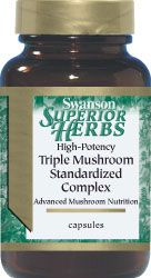 Triple Mushroom Complex - Swanson