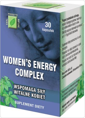WOMEN'S ENERGY COMPLEX dla kobiet - wzmacnia siły witalne